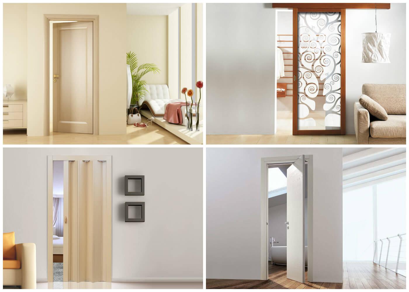 Межкомнатные двери: типы открывания