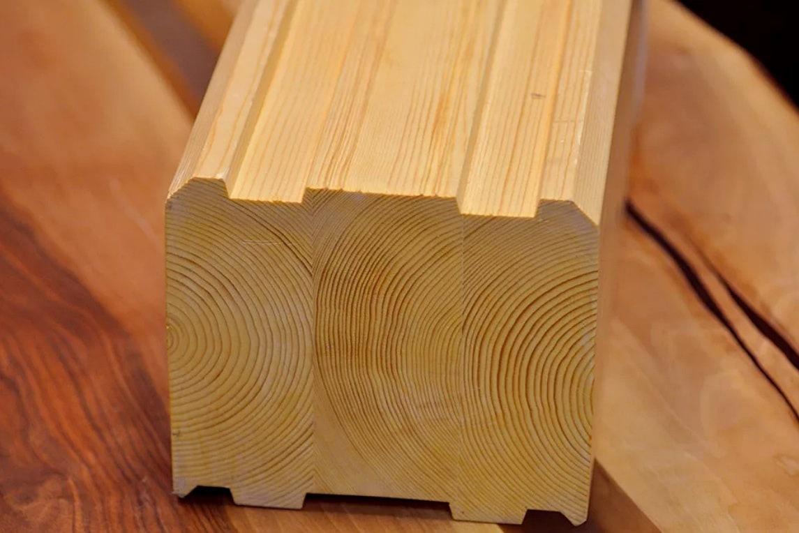 профилированная древесина